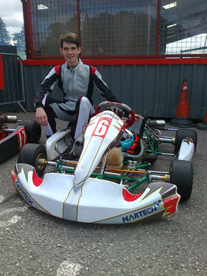 Martech are sponsoring Super One Series driver, Will van Es